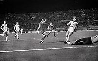 Fotball<br /> Liverpool<br /> Foto: Colorsport/Digitalsport<br /> NORWAY ONLY<br /> <br /> Terry McDermott (Liv) scores his goal past Berti Vogts. Liverpool v Borussia Monchengladbach, European Cup Final 1977. Rome. 25/5/77.