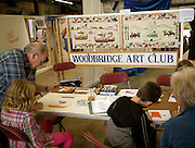 Children art club, Woodbridge, Suffolk