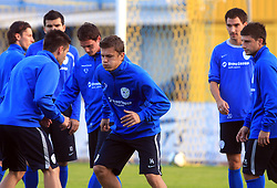 Zlatko Dedic (14) at practice of Slovenian men National team, on October 13, 2008, in Domzale, Slovenia.  (Photo by Vid Ponikvar / Sportal Images)