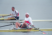 World Rowing Championships, Tampere, FINLAND, 1995, GER M1X, Thomas LANGE,  Photo  Peter Spurrier/Intersport Images Re-Edited and file ref No. updated, 16th January 2021.