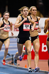 New Balance Indoor Grand Prix track meet: Women's 2 Mile, Mary Cain sets American High School record