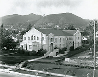 1922 Hollywood Congregational Church on Hollywood Blvd.