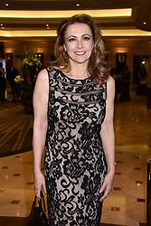 Emma Samms at The Asian Awards, The Hilton Park Lane, London England. 5 May 2017.<br /> Photo by Dominic O'Neill/SilverHub 0203 174 1069 sales@silverhubmedia.com