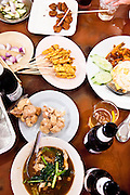 Lunch at Mee Ton Poe restaurant, in Sino-Portuguese Colonial Quarter, Phuket.