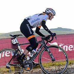 13-03-2016: Wielrennen: acht van Dwingeloo: DWINGELOO (NED): Wielrennen: Vrouwen elite: <br /> Marianne Vos:<br /> Na 10 maandenbelssure leed reed Marianne Vos haar eerste wedstrijd in Drenthe