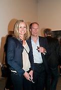 BODIL BLAIN; HARRY BLAIN, Gerhard Richter: Panorama. Tate Modern. London. 4 October 2011. <br /> <br />  , -DO NOT ARCHIVE-© Copyright Photograph by Dafydd Jones. 248 Clapham Rd. London SW9 0PZ. Tel 0207 820 0771. www.dafjones.com.