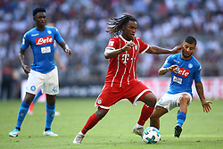 August 2, 2017 - Munich, Germany - Renato Sanches of Bayern and Lorenzo Insigne of Napoli during the Audi Cup 2017 match between SSC Napoli v FC Bayern Muenchen at Allianz Arena on August 2, 2017 in Munich, Germany. (Credit Image: © Matteo Ciambelli/NurPhoto via ZUMA Press)