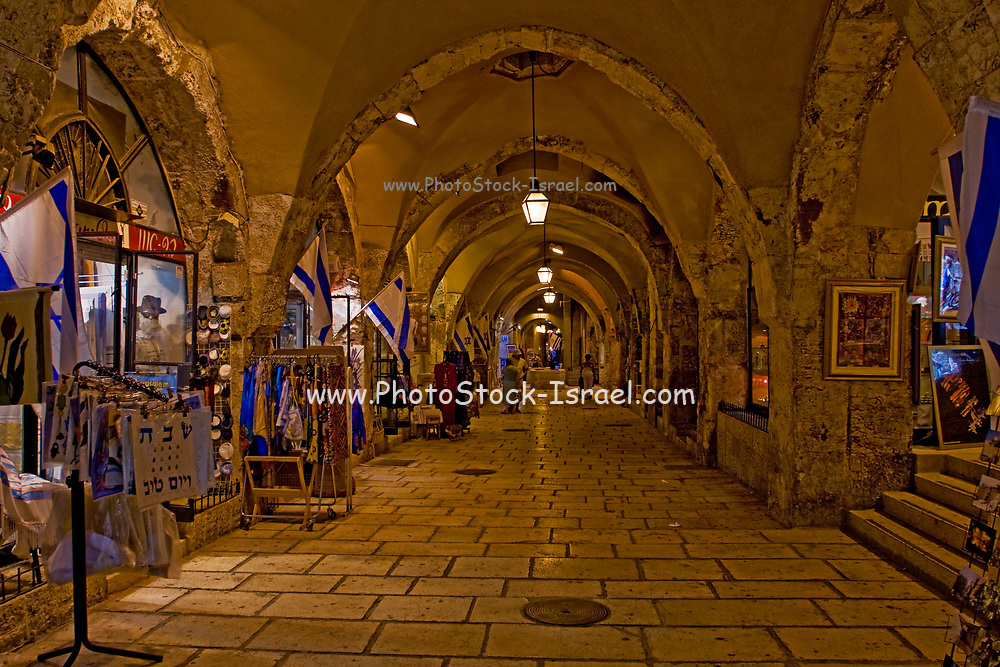 The Cardo in the Old City of Jerusalem