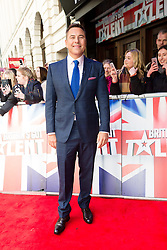 "© Licensed to London News Pictures. 22/01/2016. London, UK. David Walliams arrives at The Dominion Theatre in London for the ""Britain's Got Talent"" auditions. Photo credit : Vickie Flores/LNP"