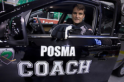 Coach Mike Posma of HDD Tilia Olimpija before new season 2008/2009,  on September 17, 2008 in Arena Tivoli, Ljubljana, Slovenia. (Photo by Vid Ponikvar / Sportal Images)