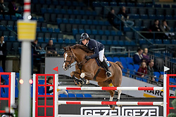 Kreuzer Andreas, GER, Calvilot<br /> Stuttgart - German Masters 2018<br /> © Hippo Foto - Stefan Lafrentz