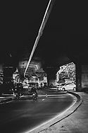 On a street in Bangkok, Thailand. (November 18, 2011)