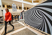 A spiral version of the rabbit hole - Alice in Wonderland  - a celebration of the 150th anniversary of the publication of Alice's Adventures in Wonderland. This new exhibition at the British Library explores how Alice has captured readers imaginations for so many years.  Although the story has been adapted, appropriated, re-imagined and re-illustrated since its conception, people are still enchanted by Carroll's original, which continues to inspire new generations of writers and illustrators. Highlights of the show include Lewis Carroll's original manuscript with hand-drawn illustrations, alongside stunning editions by Mervyn Peake, Ralph Steadman, Leonard Weisgard, Arthur Rackham, Salvador Dali and others.