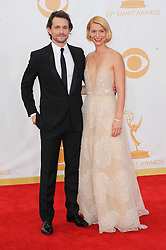 Claire Danes, Hugh Dancy arriving at the 65th Annual Primetime Emmy Awards held at Nokia Theatre L.A. Live on September 22, 2013 in Los Angeles, CA, USA. Photo by Apega/ABACAPRESS.COM  | 415431_024  Los Angeles Etats-Unis United States