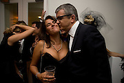 tracey emin; jay jopling, Nicky Haslam party for Janet de Botton and to celebrate 25 years of his Design Company.  Parkstead House. Roehampton. London. 16 October 2008.  *** Local Caption *** -DO NOT ARCHIVE-© Copyright Photograph by Dafydd Jones. 248 Clapham Rd. London SW9 0PZ. Tel 0207 820 0771. www.dafjones.com.