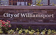 Northcentral Pennsylvania, Williamsport city sign