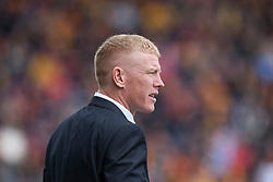 Gary Holt Falkirk's manager..half time ; Falkirk 0 v 0 Partick Thistle, 20/4/2013..© Michael Schofield.
