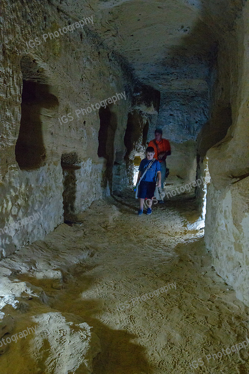 Underground tunnels at Serapeum of Alexandria