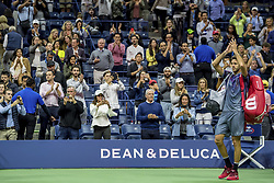 September 8, 2017 - New York, New York, USA - SEP 08, 2017: Juan Martin del Potro (ARG) during the 2017 U.S. Open Tennis Championships at the USTA Billie Jean King National Tennis Center in Flushing, Queens, New York, USA. (Credit Image: © David Lobel/EQ Images via ZUMA Press)