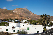 Montana de Medio mountain, Los Ajaches mountain range, Yaiza village,  Lanzarote, Canary Islands, Spain