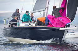 Largs Regatta Week 2017 <br /> <br /> Day 2, GBR8272T, Satisfaction, Nicholas Marshall, St Mary's Loch SC, J 92<br /> <br /> Picture Marc Turner