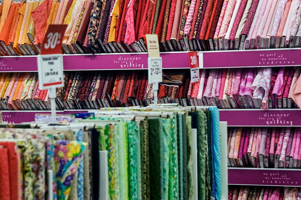 Fabric store.