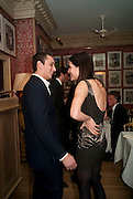 ALEX DELLAL; CHARLOTTE CASIRAGHI, Graydon Carter hosts a diner for Tom Ford to celebrate the London premiere of ' A Single Man' Harry's Bar. South Audley St. London. 1 February 2010