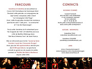 "Press Kit of the theatre play ""QUAND JE SERAI GRANDE J'AURAI DES CHAUSSURES ROUGES""...Photo & Design : Capucine Bailly"