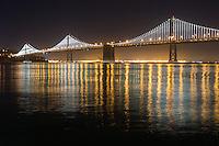 San Francisco Bay Bridge at Night