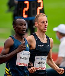 RichardDoumaof Netherlands in action on the 1500 meter during FBK Games 2021 on 06 june 2021 in Hengelo.