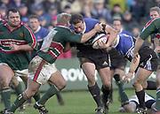 Bath, Somerset, UK., 1st February,  Zurich Premiership Rugby,  Recreation Ground The Rec.,  [Mandatory Credit: Peter Spurrier/Intersport Images],ZURICH PREMIERSHIP RUGBY Bath v Leicester Tigers<br /> Adam Vander