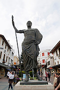 Turkey, Antalya, The old city Statue of Attalos II founder of the city in 158 BCE