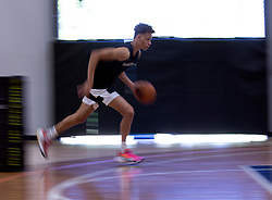 G League Ignite's Dyson Daniels drives to the basket during a practice with the team on Tuesday, Sept. 28, 2021 in Walnut Creek, Calif.