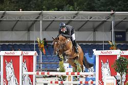 123 - Finn - Drain Conor<br /> 4 Jarige Finale Springen<br /> KWPN Paardendagen - Ermelo 2014<br /> © Dirk Caremans