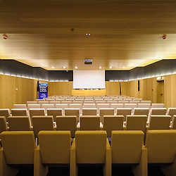 Sala de conferências da Academia BAI em Talatona, Luanda Sul, construida pela GRINER. Província de Luanda, Angola