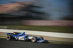 March 7, 2017 - MARCUS ERICSSON (SWE) drives on the track in his Sauber C36-Ferrari during day 5 of Formula One testing at Circuit de Catalunya (Credit Image: © Matthias Oesterle via ZUMA Wire)