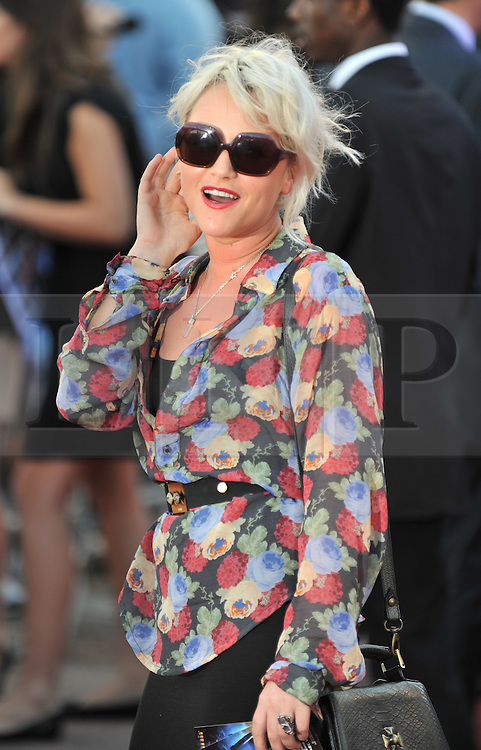 © Licensed to London News Pictures. 11/08/2011. London, England.Jaime Winstone attends the U.K premiere of Cowboys and Aliens Starring Harrison Ford and Daniel Craig at the O2 Cineworld London Photo credit : ALAN ROXBOROUGH/LNP
