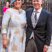 NLD/Den Haag/20180918 - Prinsjesdag 2018, Raymond Knops en partner