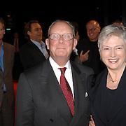 NLD/Hilversum/20061201 - Opening Nederlands Instituut voor Beeld en Geluid, Maria van der Hoeven en partner Lou Buitendijk