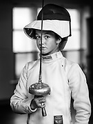 Ghent, Belgium, 23 Sep 2020, Fencing is her passion for Noa. Last year Noa finished 2nd in the U17 in the Belgian championship. Her focus this year was to become Belgian champion. But then came Corona. No more competitions. Hardly any training. Noa continued to train on her condition and practiced against a doll. She hopes to be ready for the closing act this year within 3 weeks. After that, according to her trainers, she has the potential to go to the world championship as a Belgian entry. It's a matter of staying healthy!