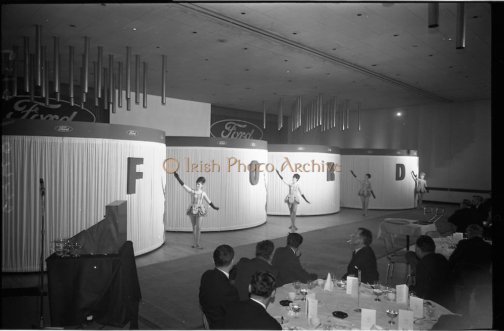 26/11/1964.11/26/1964.26 November 1964.Presentation of new Ford tractors at the Intercontinental Hotel, Dublin.