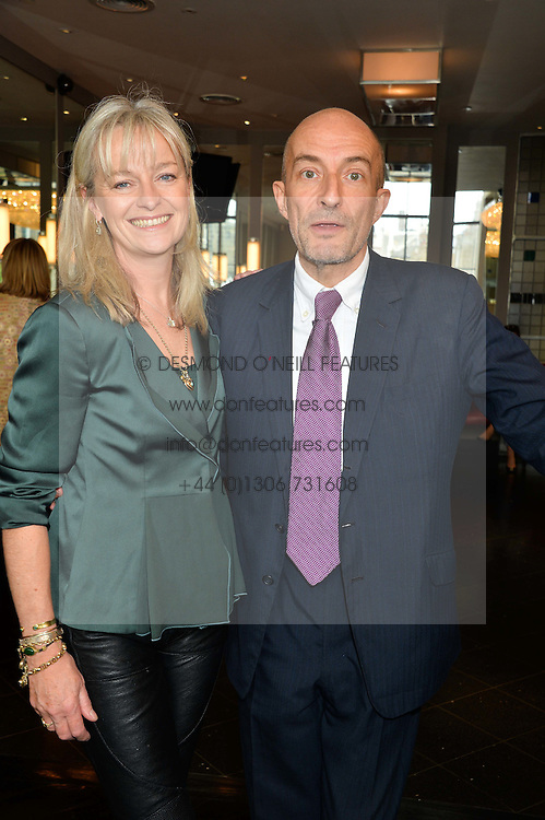 KIT HESKETH-HARVEY and KATIE RABETT at a ladies lunch in aid of the charity Maggie's held at Le Cafe Anglais, 8 Porchester Gardens, London on 29th April 2014.
