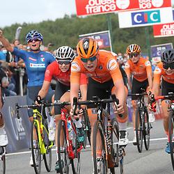 26-08-2020: Wielrennen: EK wielrennen: Plouay<br /> Lonneke Uneken pakt zilver op EK onder de 23 jaar