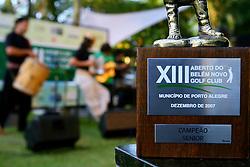 O show de encerramento do XIII Aberto do Belém Novo Golf Club ficou por conta do Renato Borguethi.  FOTO: Itamar Aguiar/Preview.com
