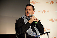 """Darren Aronofsky speaking about directing the film """"Black Swan"""" during a Q and A screening at the Arclight Cinema held by The Wrap."""