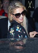 Paris Hilton Leaving The Mayfair Hotel in London