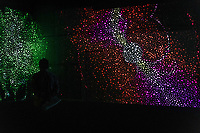CARRIAGEWORKS ,Sydney UNVEIL LARGE-SCALE ARTWORKS <br /> PRESENTED FREE TO THE PUBLIC <br /> New works by leading Australian artists employ light as a medium to explore our basic interconnectivity as humans<br /> <br /> Daniel Boyd: VIDEO WORKS Sydney-based Kudjala/Gangalu artist Boyd's immersive composite of three major video installations will map the walls of the gallery with an infinite cosmos of dynamic compositions and prismatic colour. Set to a remixed soundtrack by long-time music collaborators Canyons, VIDEO WORKS is an abstracted journey through time immemorial, and a gesture to the impermanence of life on this planet.