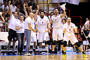 DESCRIZIONE : Forli DNB Final Four 2014-15 Npc Rieti BCC Agropoli<br /> GIOCATORE : team<br /> CATEGORIA : esultanza<br /> SQUADRA : Npc Rieti<br /> EVENTO : Campionato Serie B 2014-15<br /> GARA : Npc Rieti BCC Agropoli<br /> DATA : 13/06/2015<br /> SPORT : Pallacanestro <br /> AUTORE : Agenzia Ciamillo-Castoria/M.Marchi<br /> Galleria : Serie B 2014-2015 <br /> Fotonotizia : Forli DNB Final Four 2014-15 Npc Rieti BCC Agropoli