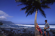 Couple, Princeville, Hanalei, Kauai, Hawaii<br />
