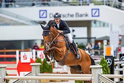 DEVOS Pieter (BEL), Espoir<br /> - Stechen -<br /> Allianz-Preis<br /> CSI3* - Aachen Grand Prix, Springprüfung mit Stechen, 1.50m<br /> Grosse Tour<br /> Aachen - Jumping International 2020<br /> 06. September 2020<br /> © www.sportfotos-lafrentz.de/Stefan Lafrentz